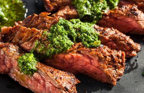 barbeque steak