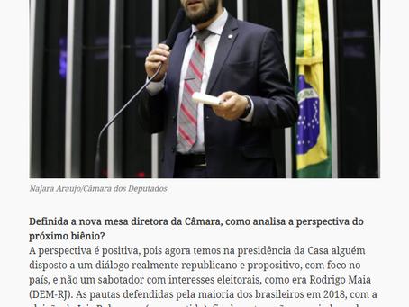 A expectativa com a nova presidência da Câmara dos Deputados, segundo Filipe Barros