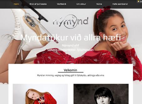 Ný heimasíða www.nymynd.com