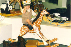 Child on Lg Giraffe