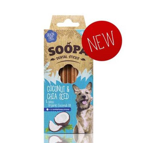 Soopa Dental Sticks - Coconut Chia Seed