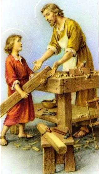 1 мая 2018 г - день святого Иосифа - труженика.