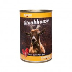 Steakhouse Tinned Pure Goat  410 gr