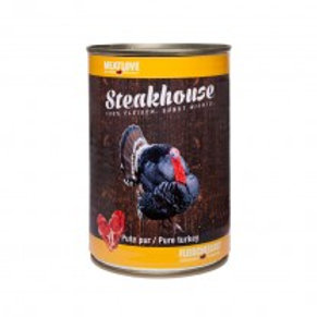Steakhouse Tinned Pure Turkey 410 gr