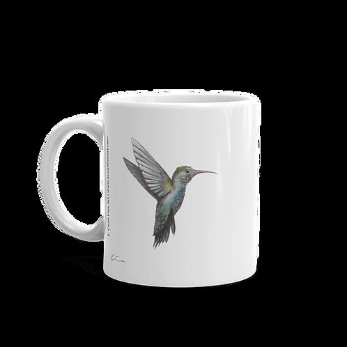 Hummingbird Mug | Artwork is on Both Sides