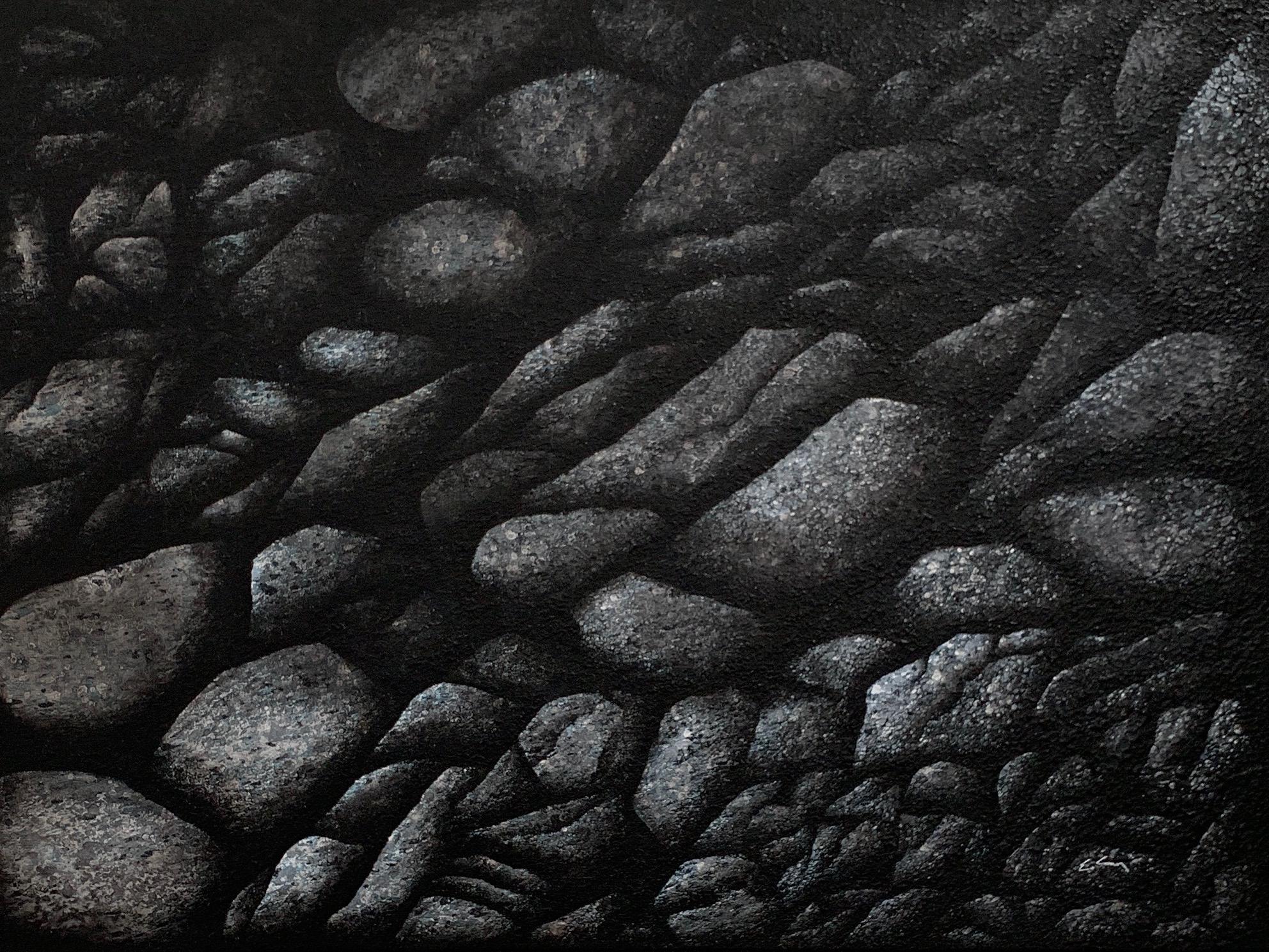"""Assemblage of Ashy Rocks"""