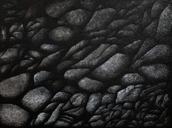 ASSEMBLAGE OF ASHY ROCKS