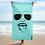 """Thumbnail: Sumus Maris """"Stoked"""" Beach Towel"""