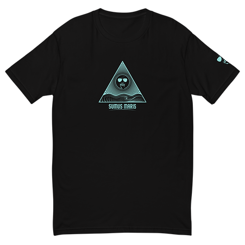 Sumus Maris Short Sleeve Teal Logo T-shirt