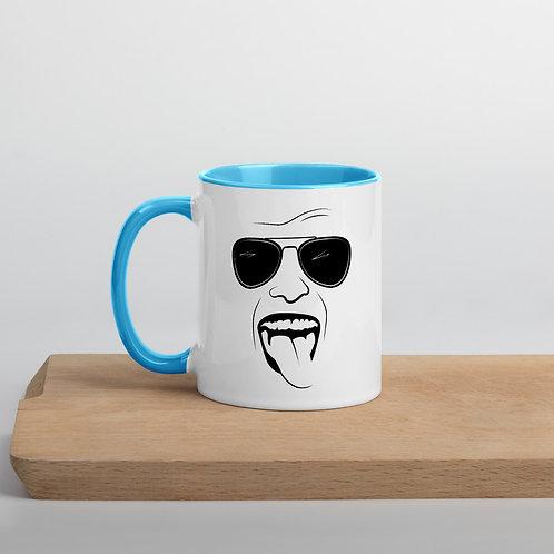 "Sumus Maris ""Stoked"" Mug w/Color Inside"