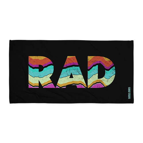 Rad! Beach Towel
