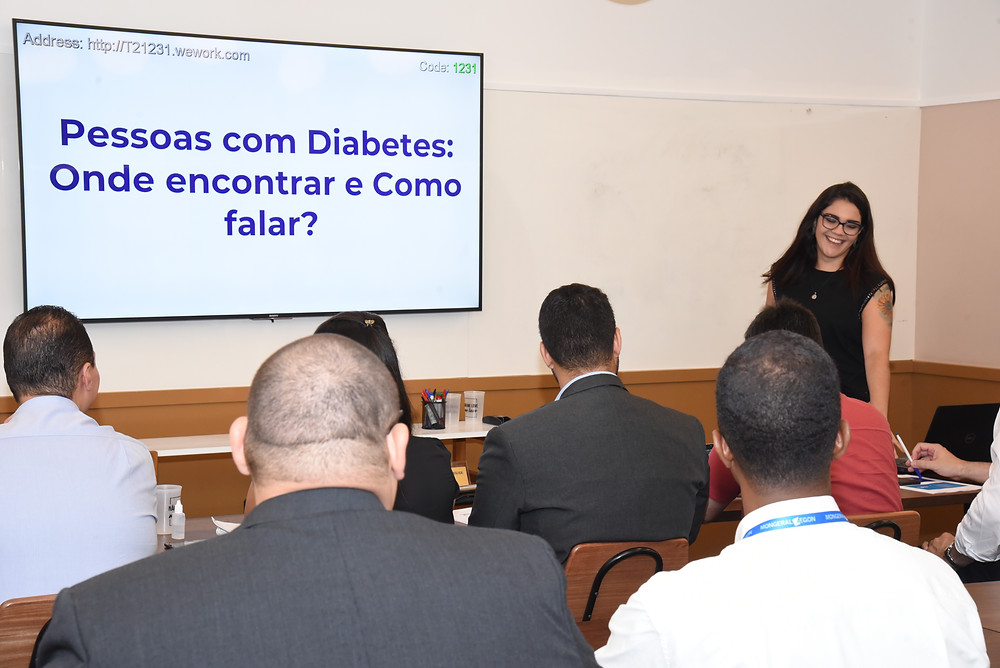 treinamento diabetes