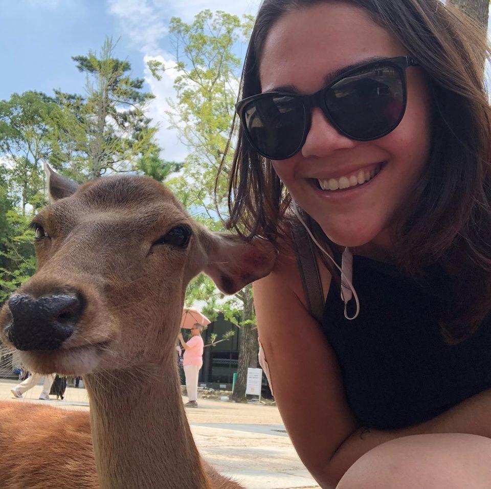 Fiz um amigo em Nara