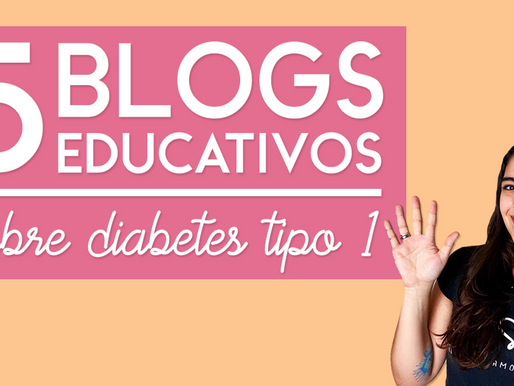 5 blogs educativos sobre diabetes tipo 1 que você precisa conhecer hoje mesmo