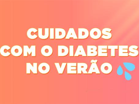 Cuidados com o diabetes no verão para aproveitar a estação