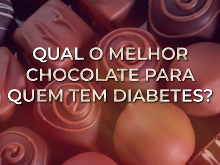 Qual o melhor chocolate para quem tem diabetes?