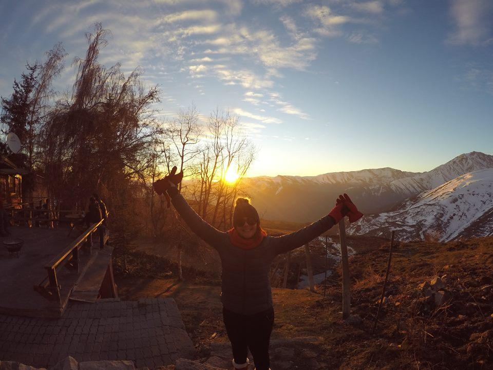 Pôr do sol mais emocionante da vida