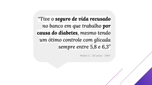 depoimento pesquisa winsocial diabetes