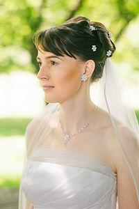 wundeschöne Braut wie aus einem Jane Austen-Film
