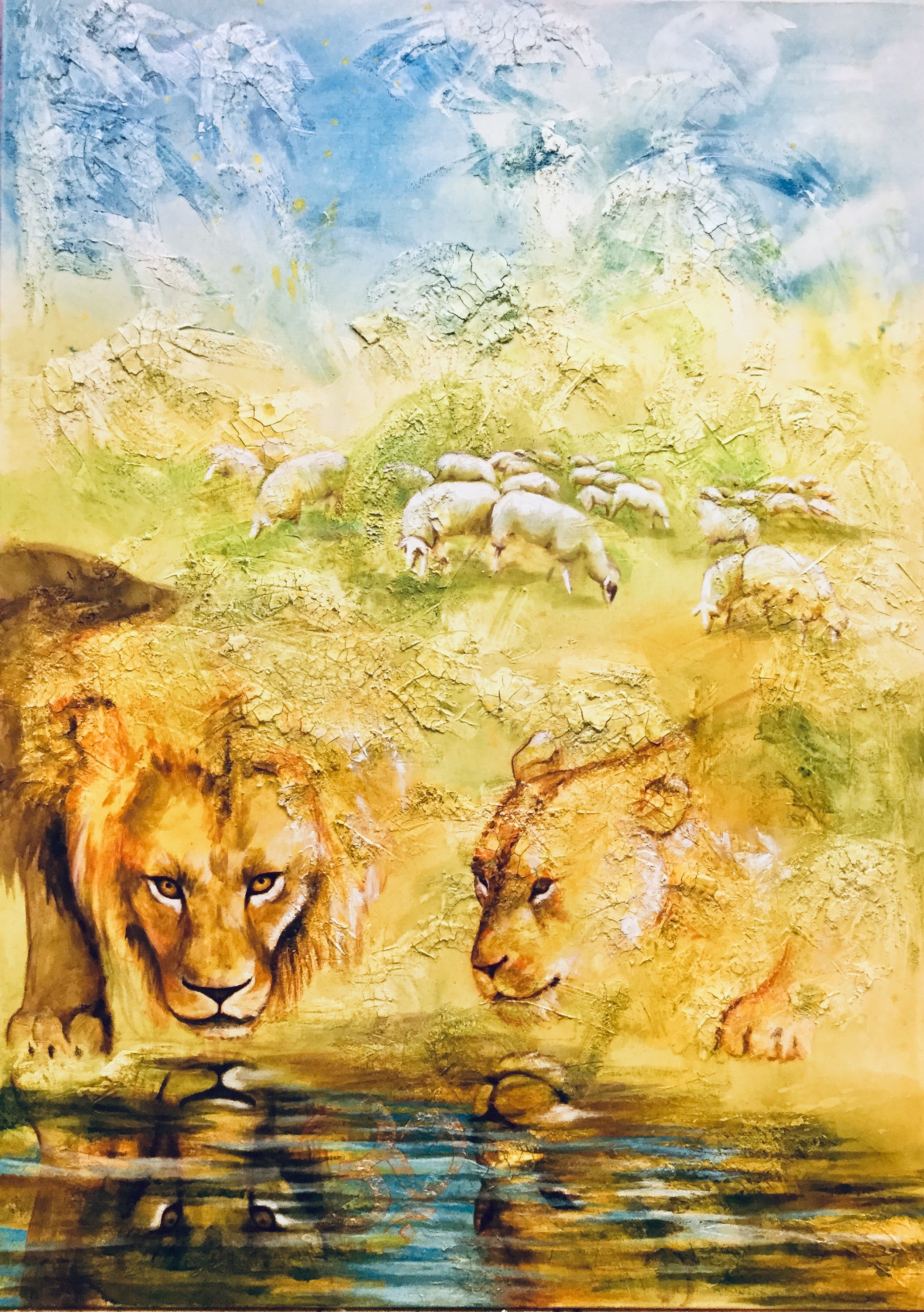 The Lion and the Sheep