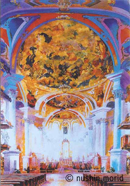 Barocke Kathedrale