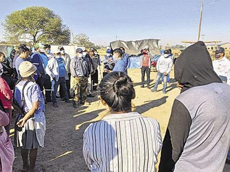 El INRA ordena desalojar a 70 familias que ingresaron ilegalmente a un predio en Pailón