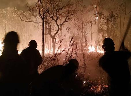 Costas declara Emergencia Departamental para combatir los incendios y la sequía