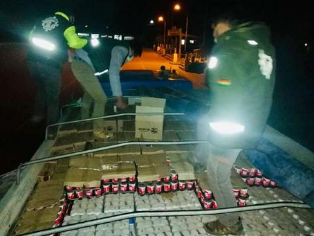 Senasag realiza operativos sorpresa en varios puntos fronterizos intermedios del país