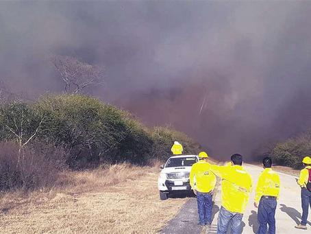 Incendios se propagan y ABT amplía permisos para quemas controladas