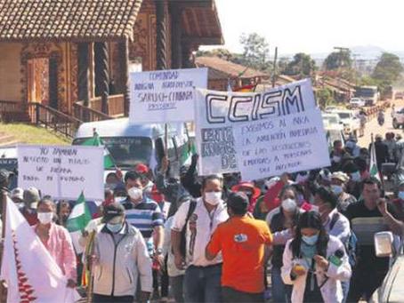 Autoridades y sectores se reúnen por conflicto de la tierra y el INRA se desmarca