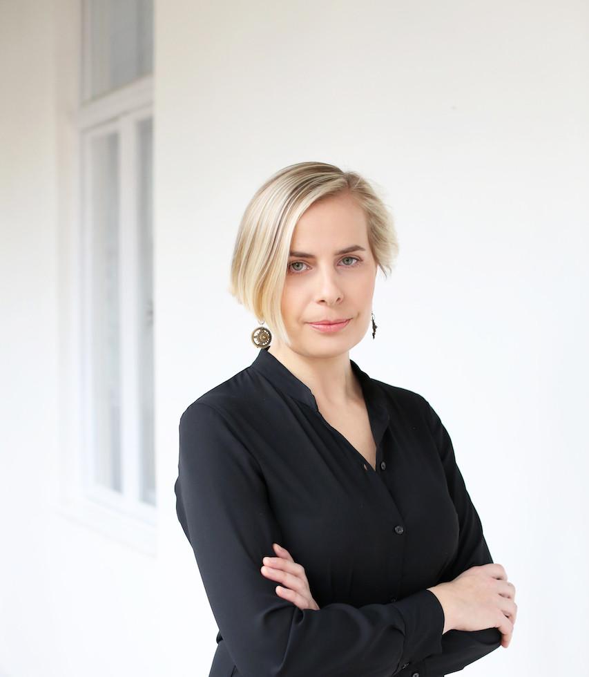 Blanka Fišerová, nakladatelka, portrét Michaela Cichrová