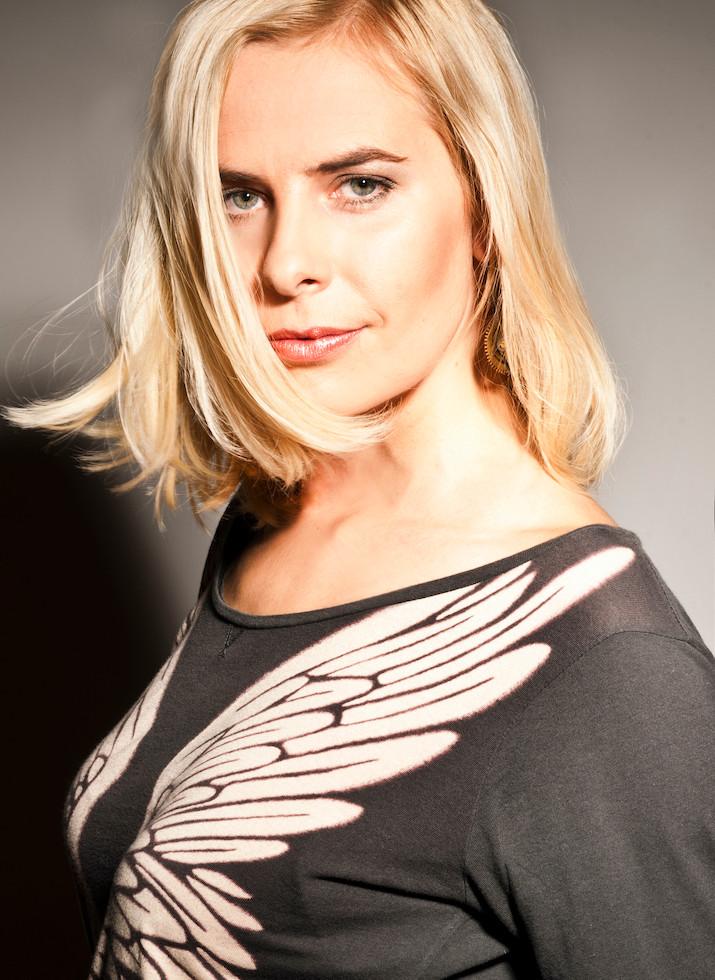 Blanka Fišerová portrét Lenka Hatašová