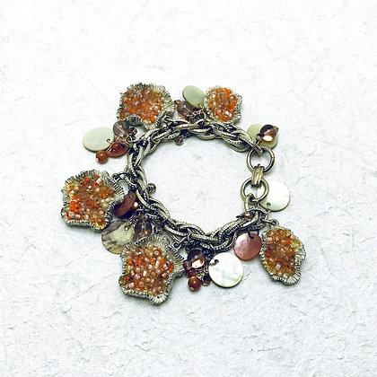 Repurposed Vintage Florida Bracelet