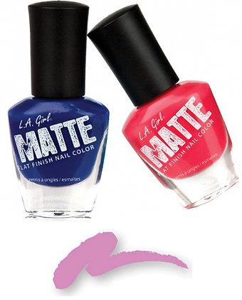Matte Nail Polish - Lilac