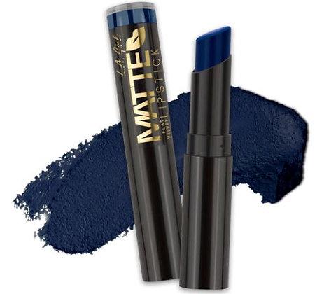 Matte Flat Velvet Lipstick - Blue Valentine