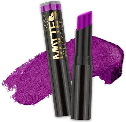Matte Flat Velvet Lipstick - Love Triangle