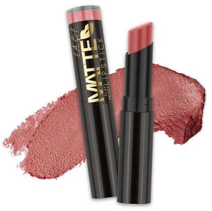 Matte Flat Velvet Lipstick - Hush