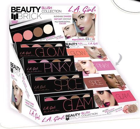 LA Girl Beauty Brick Blush Collection