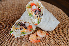 Burrito Libre Shrimp