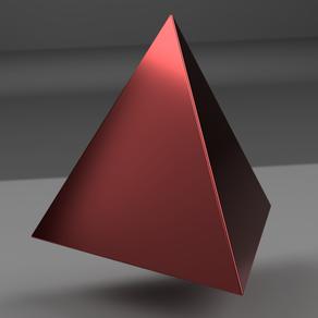 正四面体の作り方