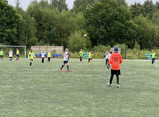 В Солнечногорске прошла открытая тренировка по футболу