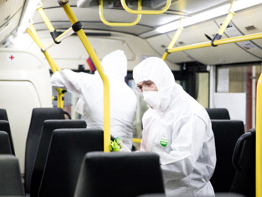 Перевозчик «Стартранс» в Солнечногорске приступил к дополнительной дезинфекции автобусов