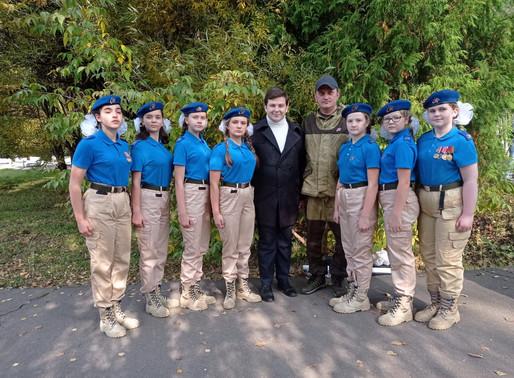 Юнармейцы Солнечногорья показали достойный результат в ВПИ «Девушки в погонах»