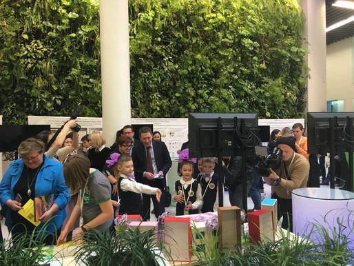 Второклассники из Солнечногорска представили эко-проект в Сколково министру Подмосковья