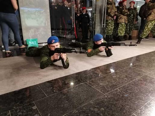 Солнечногорцы приняли участие в областной военно-патриотической игре «Юнармия, вперед!»