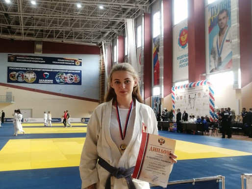 Спортсменка из Солнечногорска стала победителем на Кубке России по рукопашному бою