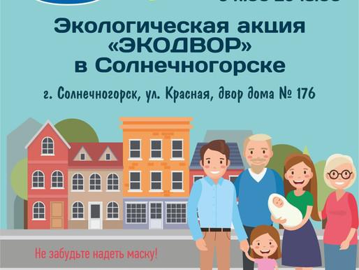На акции «ЭкоДвор» жители Солнечногорска смогут сдать старые CD/DVD диски