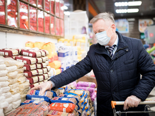 Депутат Мособлдумы поддержал акцию «Добрая корзина» в Солнечногорске