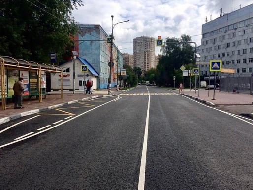 Более 50 километров дорог отремонтировали в Солнечногорске в рамках нацпроекта БКАД