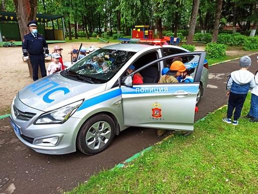 Акцию «Безопасный двор» для детей проводят полицейские в Солнечногорске